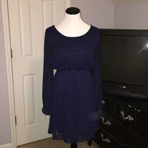 EUC polka dot dress